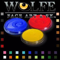 Water activated makeup by Wolfe FX
