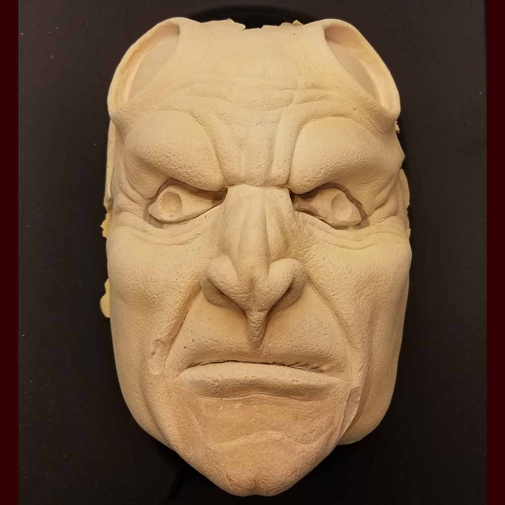 Imperfect Demon / Devil Foam Latex Prosthetic