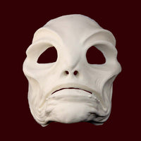 foam latex amphibian creature FX appliance makeup mask