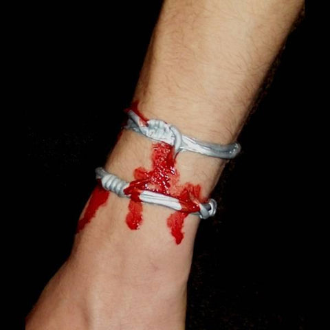 Jail Break Barbed Wire Injury Appliance