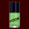 Green Neon UV glitter nail polish