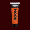 Orange neon UV black light liquid makeup