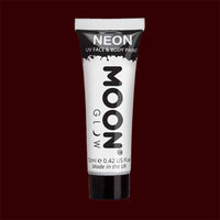 White neon UV black light liquid makeup