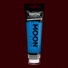 Blue UV black light liquid body paint