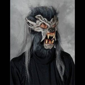 night crawler wolf halloween mask costume