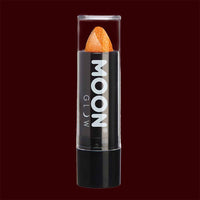 Orange Neon UV glitter lipstick