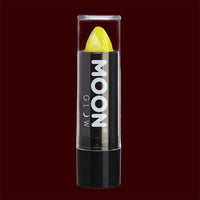 Yellow Neon UV glitter lipstick