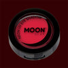 Red neon black light UV eyeshadow