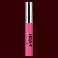 Pink neon UV black light eyeliner