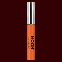 Orange neon UV black light eyeliner
