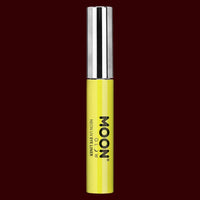 Yellow neon UV black light eyeliner
