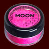 Magenta UV blacklight fine glitter