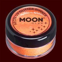 Orange UV blacklight fine glitter