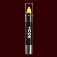 Yellow Pastel Neon UV reactive body crayon