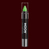 Green Pastel Neon UV reactive body crayon