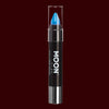 Blue Pastel Neon UV reactive body crayon
