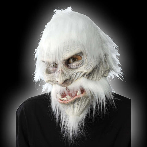 White Walker Warrior latex Halloween mask
