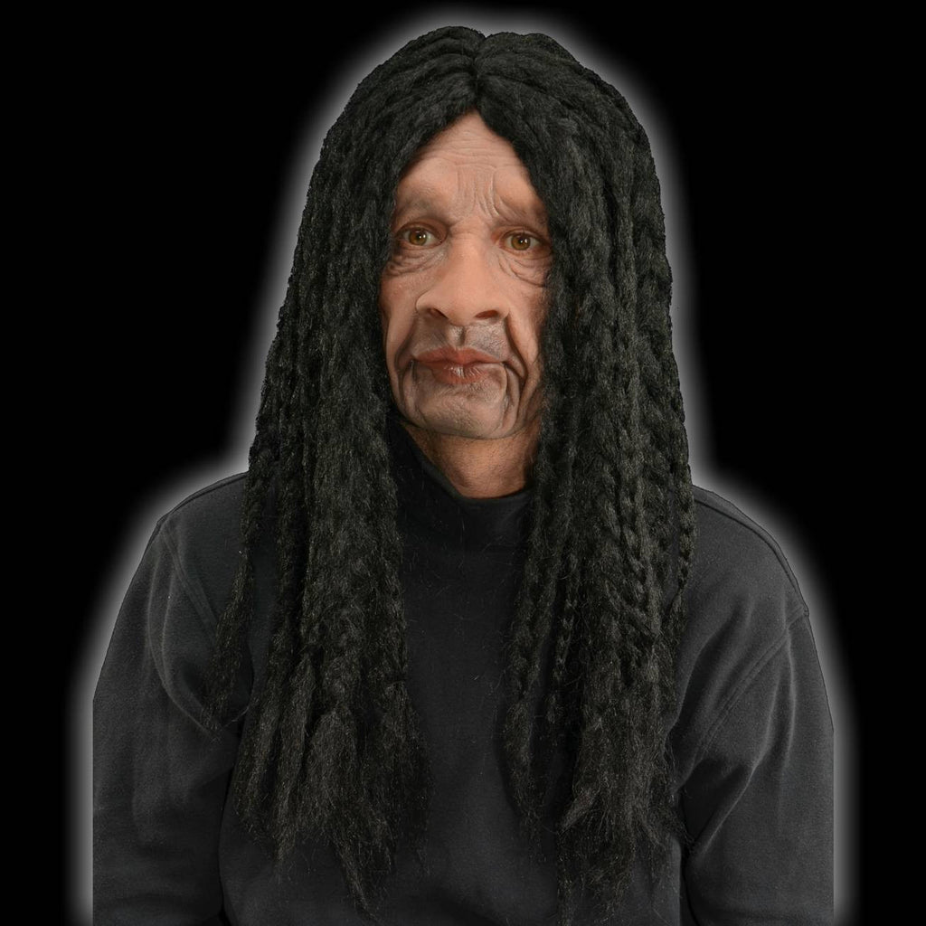 Rasta man latex Halloween mask