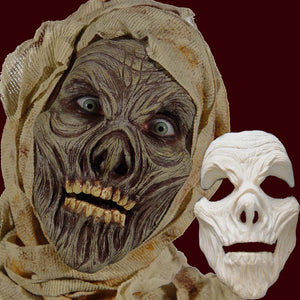 Mummy foam latex costume mask