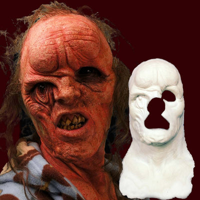 foam latex prosthetic deformed mutant monster mask