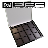 Empty Master Palette case - 12 color capacity