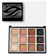 Encore alcohol activated skin tone makeup palette by European Body Art