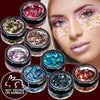Mixed color chunky cosmetic glitter