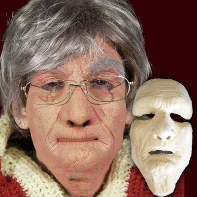Old man old woman FX makeup mask