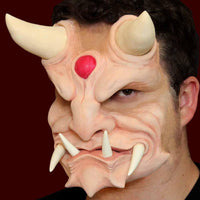 Oni Japanese Demon costume FX makeup mask