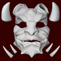 Oni Japanese Demon foam latex appliance