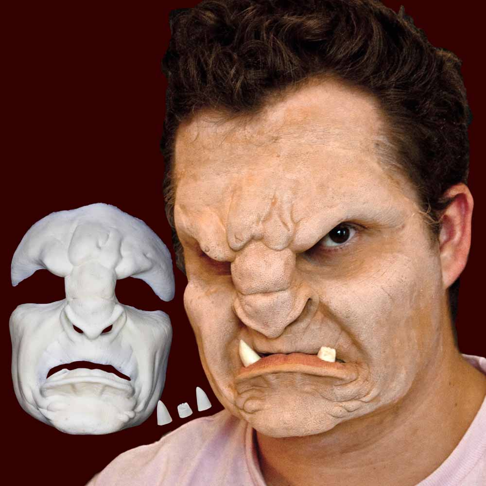 Orc troll SFX makeup mask