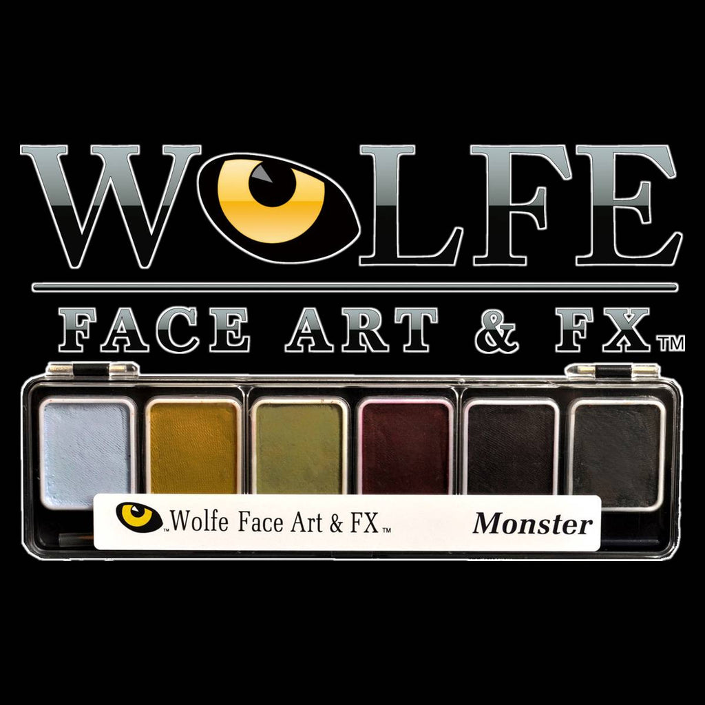 Monster Facepaint Makeup Palette