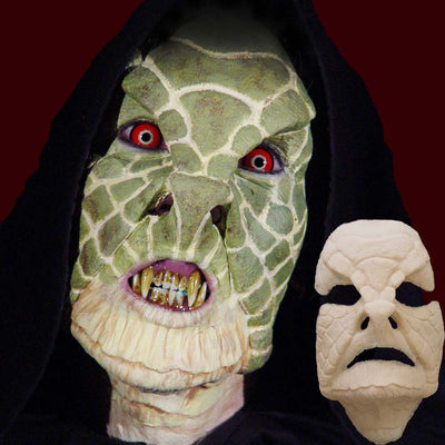 Reptile snake costume mask