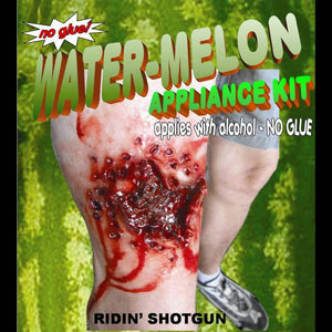 Watermelon shotgun injury