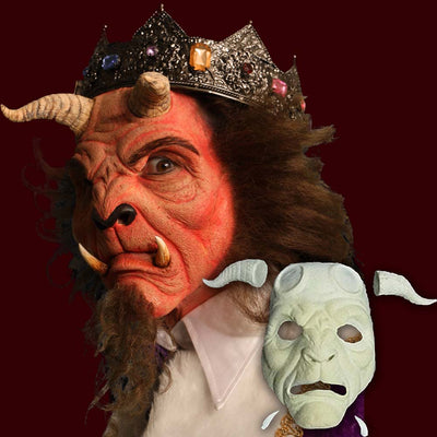 Beauty and the Beast beast mask