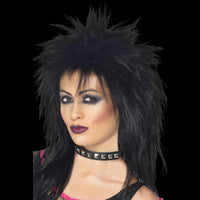 Black hair rocker chick