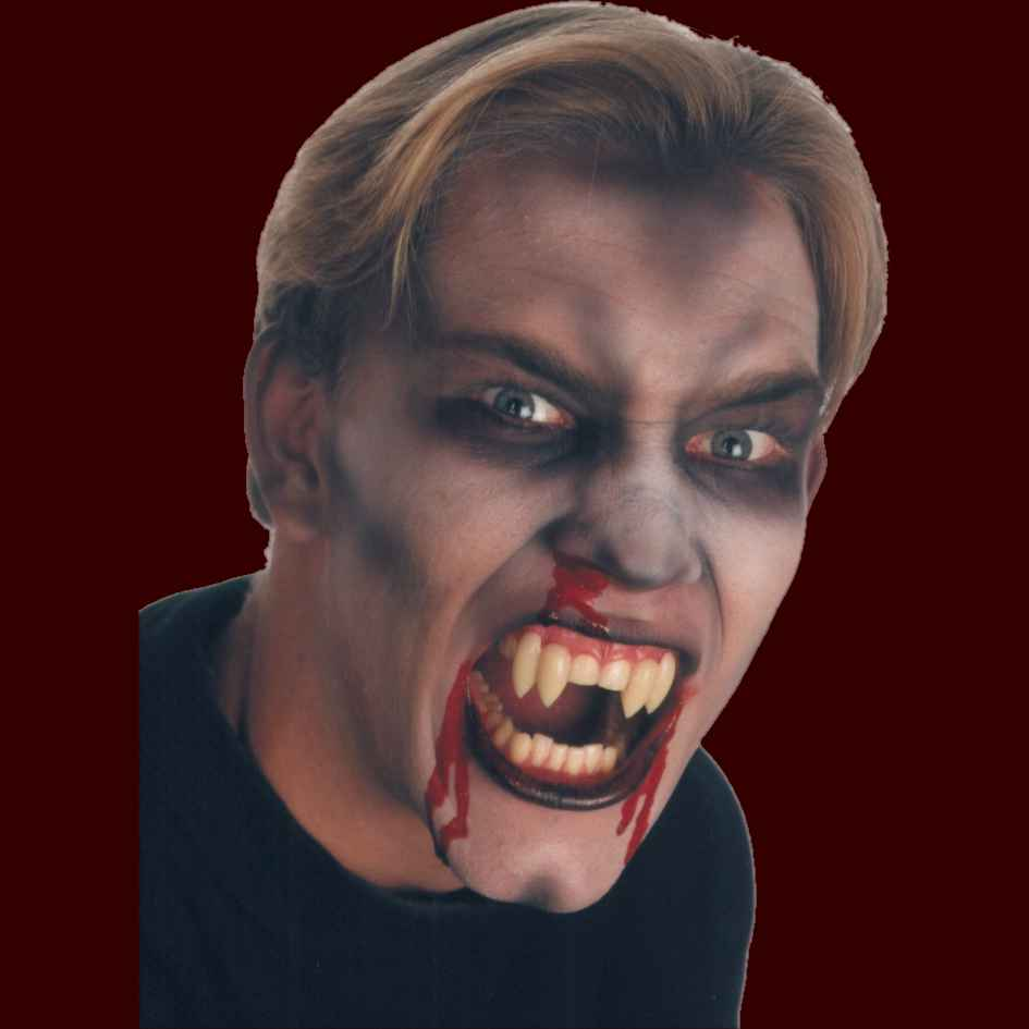 shredders double fang vampire costume teeth