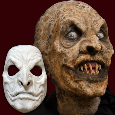 Evil creature foam latex mask
