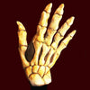 bone showing skeleton hand makeup appliance