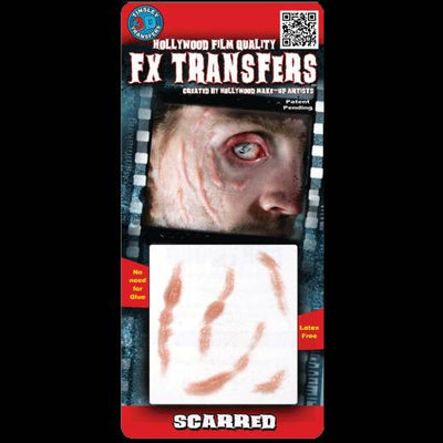 Scarred 3D FX Transfers by Tinsley Transfers