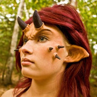 pointed ears halloween makeup sfx