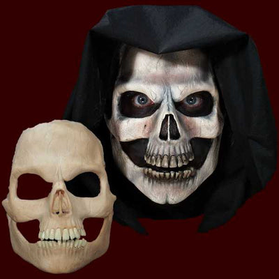 skull full face halloween latex mask
