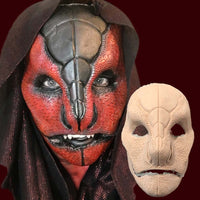 Professional snake reptile alien costume mask
