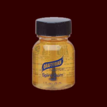 spirit gum adhesive glue for latex mask