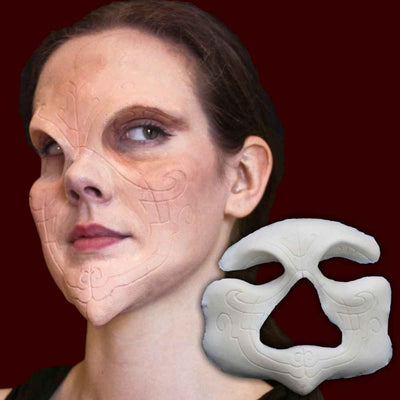 Sylf demon full face costume prosthetic