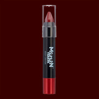 Red body makeup crayon