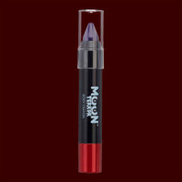 Purple body makeup crayon