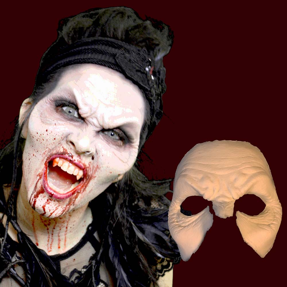 Vampire forehead with cheekbones mask