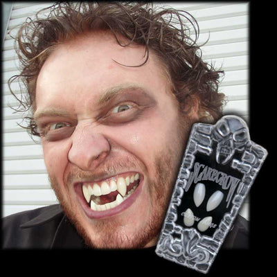 werewolf double set fangs costume teeth