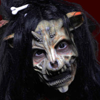 Woodland spirit devil swine makeup fx mask